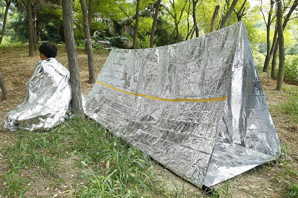Emergency Shelter - Reflective Tube Tent - Cold Weather Survival & Emergency Shelter - Reflective Tube Tent - Cold Weather Survival ...