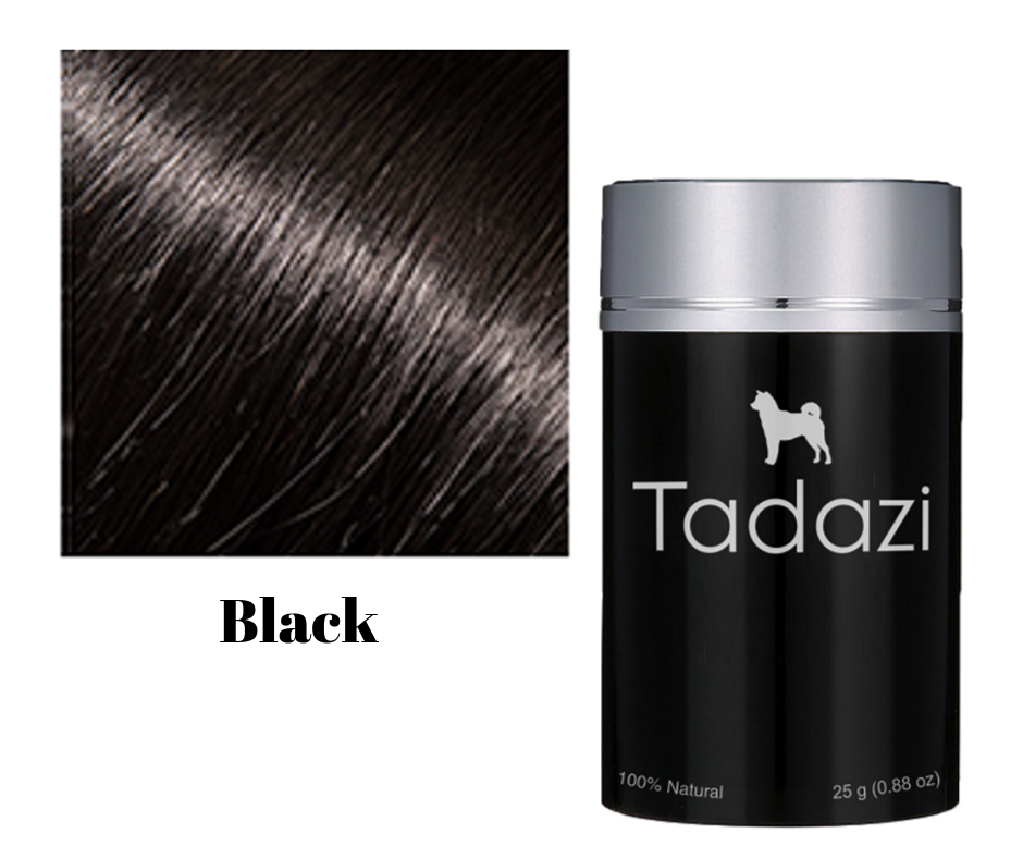 Tadazi Hair Fibers - Black