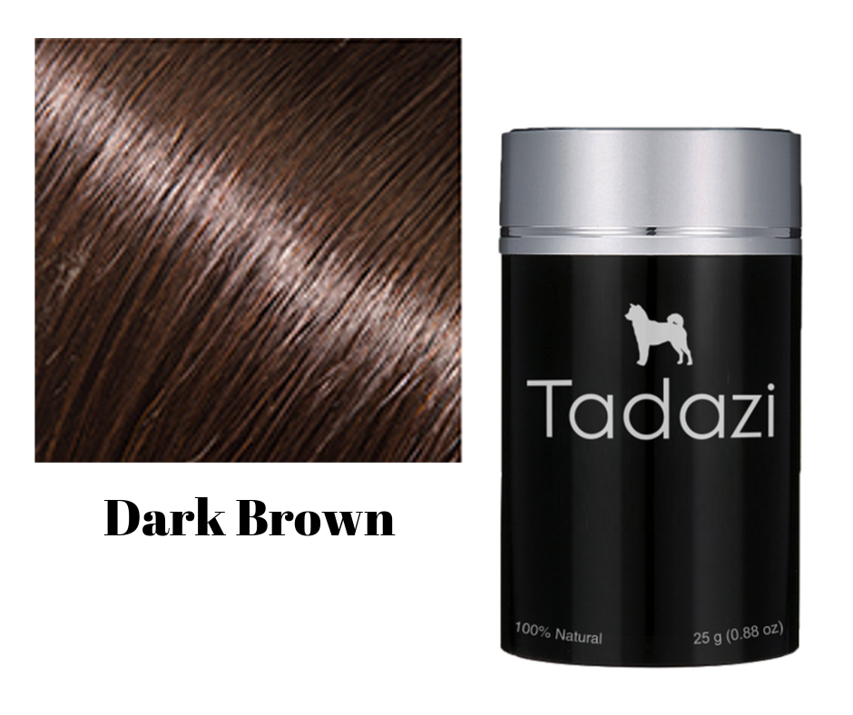 Tadazi Hair Fibers - Dark Brown
