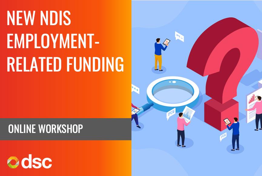 Image of New NDIS Employment-Related Funding