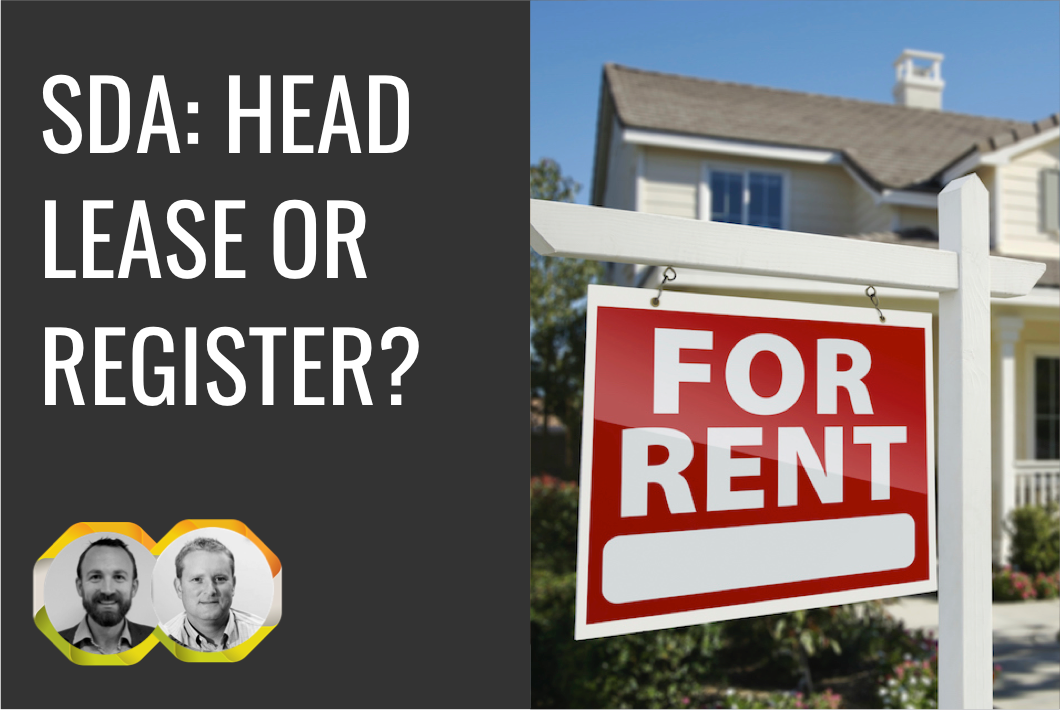 SDA: Head Lease or Register?
