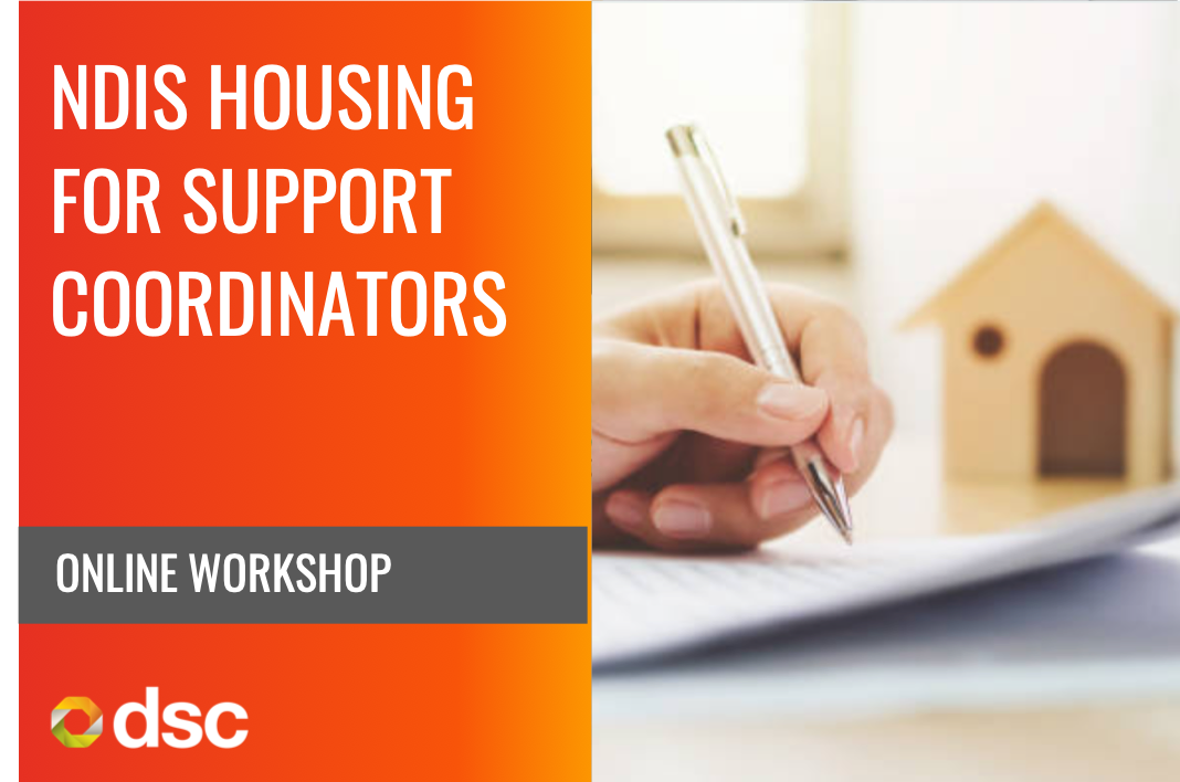 NDIS Housing for Support Coordinators