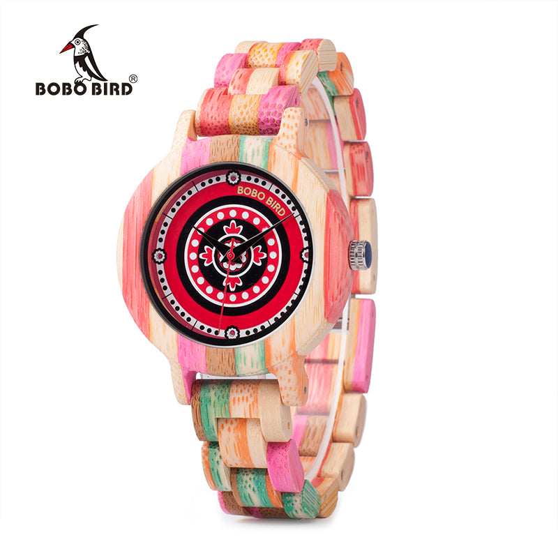 arrival image two ladies display bobo color rhinestone with new women option date bobobird products wooden watch product causal dial watches bird