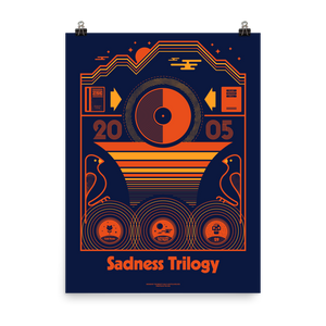 Sadness Trilogy (Blue) - Permanente