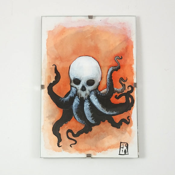 Baby Octoskull by JSMNTR