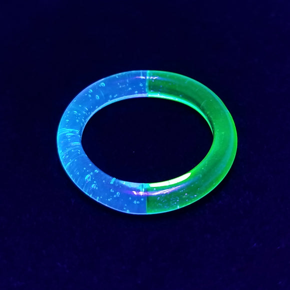 UV Bi-Color Ring | Size 8.25 | - Glass Rings by Marni