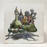 """Beetle Town""  A painting by: Cori Redford"