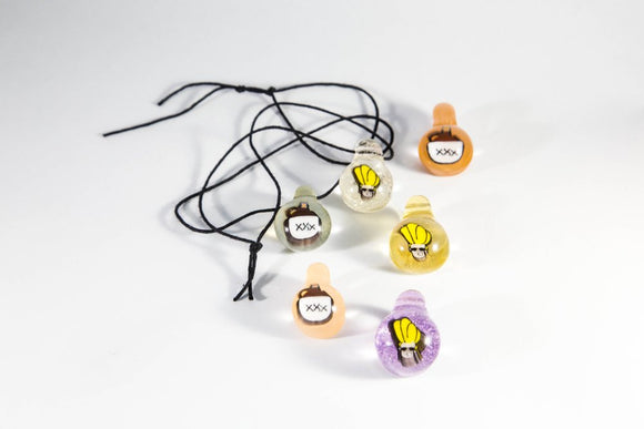 Ian Montague Jonny Bravo and Whiskey Jug Milli Pendants