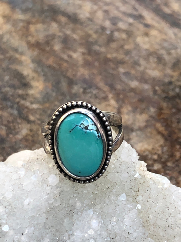 """Turquoise Stacker Ring"