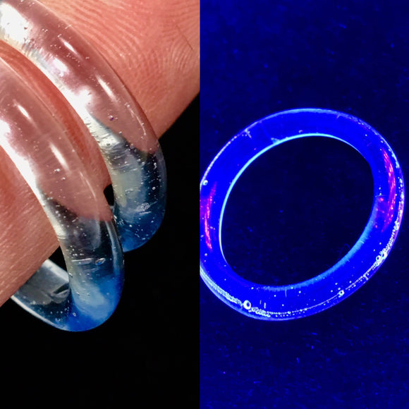 BlueV Dream UV Reactive Ring by Marni420