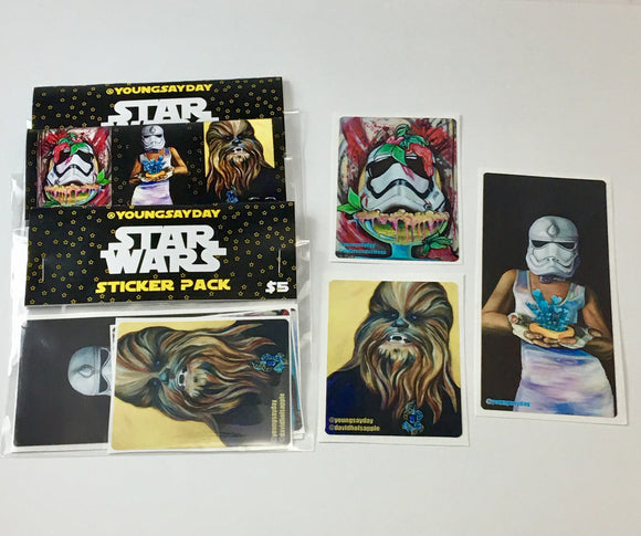 Star Wars Sticker Pack - FREE SHIPPING