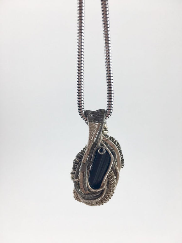 Black Tourmaline Mini Pendant JackZen