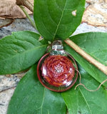 Ryan Coon Red Star Flower Pendant