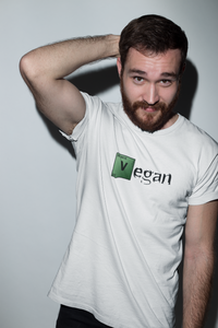 Vegan Men's T shirt Vegan Breaking Bad