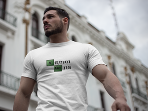 Vegan Men's T shirt Vegan Gains Breaking Bad