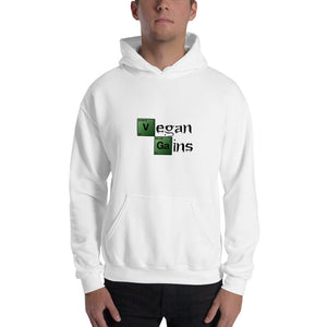Vegan Men's Hoodie Vegan Gains Breaking Bad