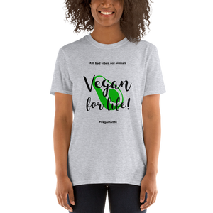 Vegan Women's T shirt Vegan for Life