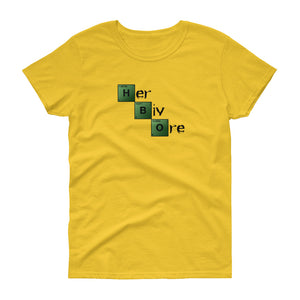 Vegan Women's T shirt Herbivore Breaking Bad