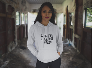 Vegan Women's Hoodie World's Okayest Vegan