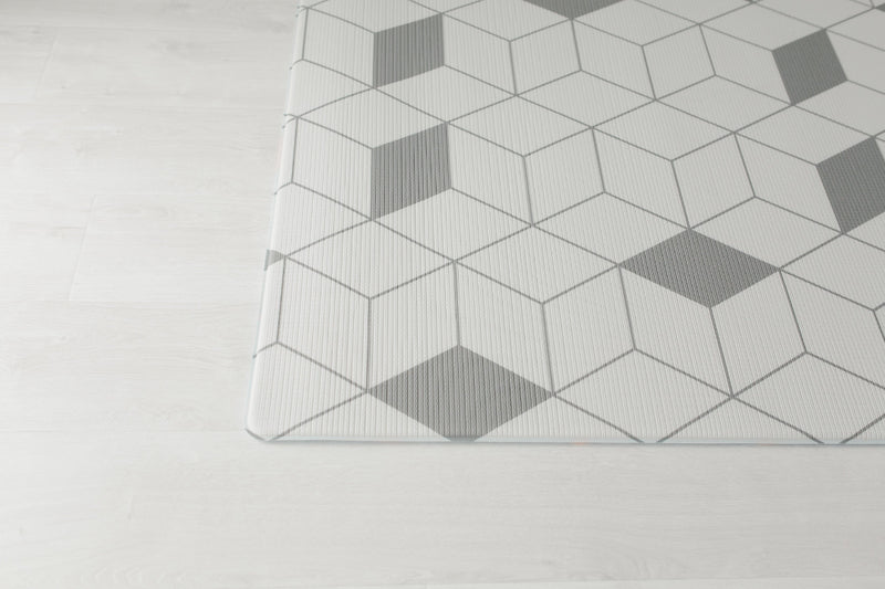 Labyrint Grey baby play mat floor , Play mat, baby play mat, tpu mat, reversible mat, padded play mat