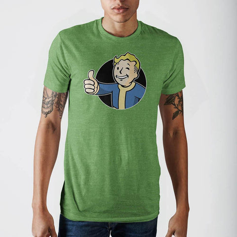 Fallout Mens Kelly Heahter T-Shirt - Masters Of Geek