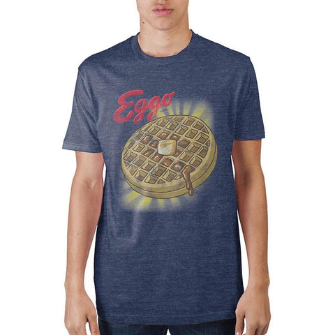 Kellogs Eggo With Glow Nvy Htr T-Shirt - Masters Of Geek