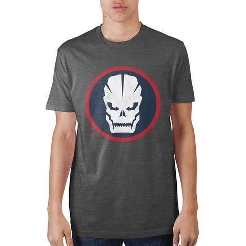 Call Of Duty Franchise Skull Circle T-Shirt - Masters Of Geek