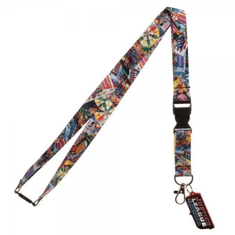 Justice League Lanyard - Masters Of Geek