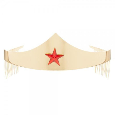 DC Comics Wonder Woman Tiara with Gem Star - Masters Of Geek