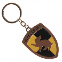 Harry Potter Hufflepuff Keychain - Masters Of Geek
