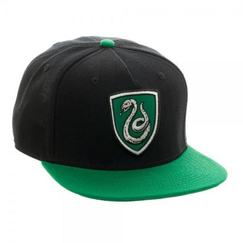 Harry Potter Slytherin Crest Snapback - Masters Of Geek