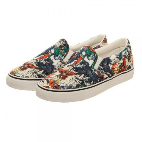 Justice League Unisex Dek Shoes - Masters Of Geek