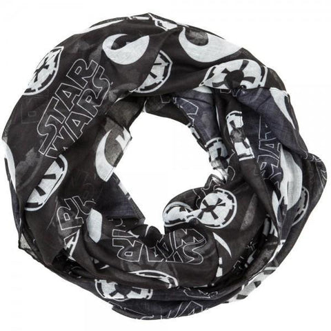 Star Wars Toss Icons Infinity Viscose Scarf - Masters Of Geek