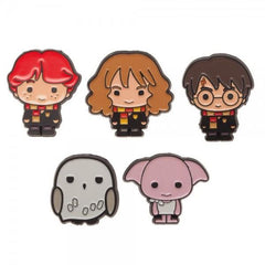 Harry Potter Lapel Pin 5 Pack - Masters Of Geek