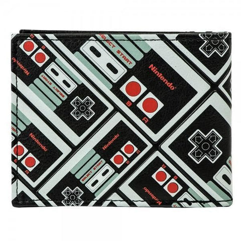 Nintendo Controller All Over Print Bi-Fold Wallet - Masters Of Geek