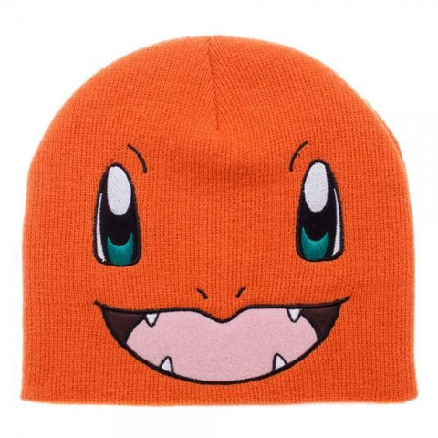 Pokemon Charmander Big Face Knit Beanie - Masters Of Geek