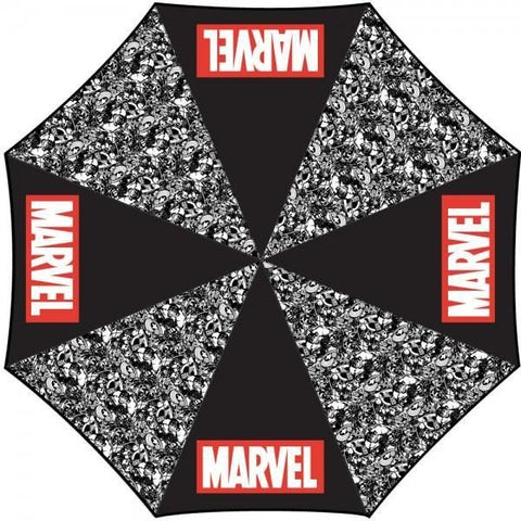 Marvel Logo Panel Umbrella - Masters Of Geek
