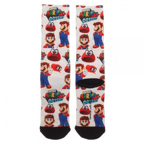 Mariodyssey Low Moq Mens Socks - Masters Of Geek