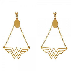 DC Comics Wonder Woman Dangle Earrings - Masters Of Geek