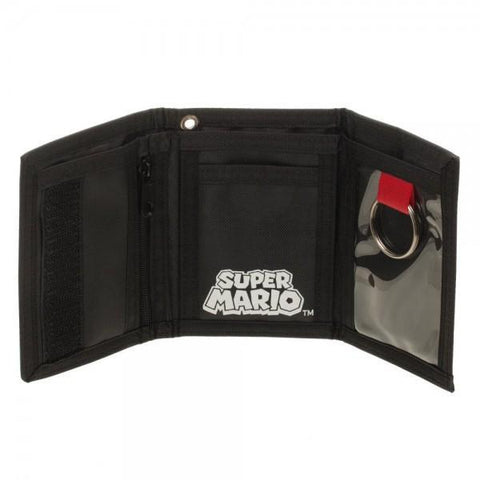 Nintendo Super Mario Velcro Wallet - Masters Of Geek