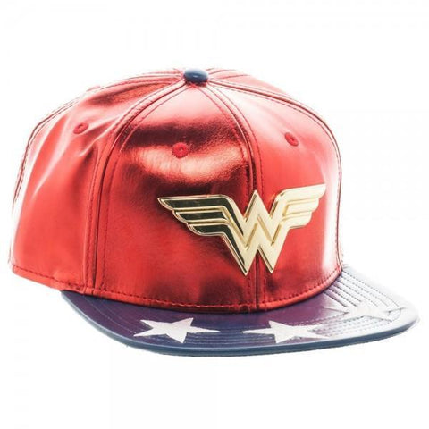 DC Comics Wonder Woman PU Suit Up Snapback - Masters Of Geek