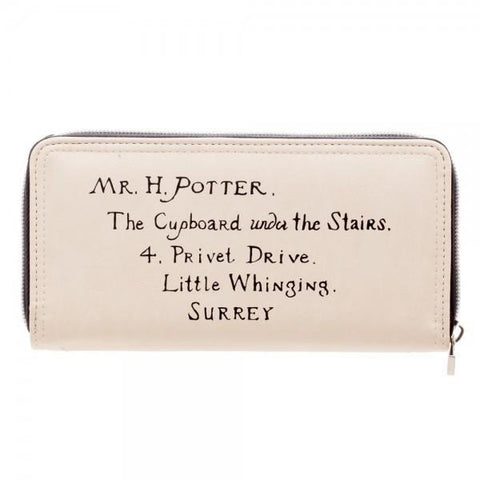 Harry Potter Letter Zip Around Wallet - Masters Of Geek