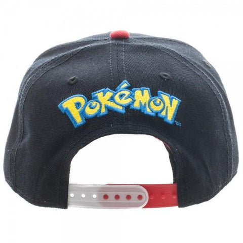 Pokemon Pokeball Sublimated Bill Snapback - Masters Of Geek