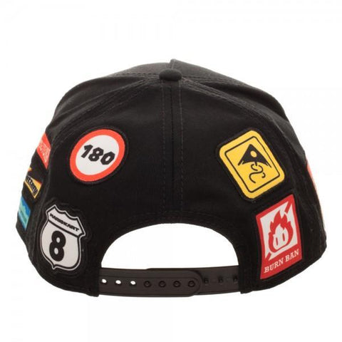 Nintendo Super Mario Kart Youth Omni Color Snapback - Masters Of Geek