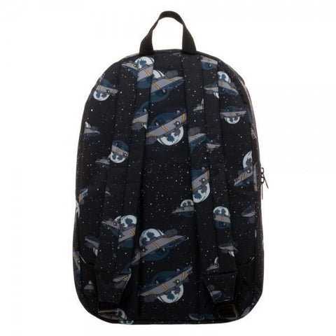Rick & Morty UFO Quick Turn Backpack - Masters Of Geek