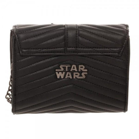 Dark Side Quilted Crossbody Bag With Tassel - Masters Of Geek