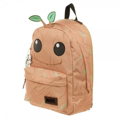 Guardians of the Galaxy Groot Big Face Backpack - Masters Of Geek