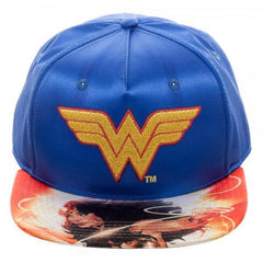 DC Comics Wonder Woman Satin Snapback - Masters Of Geek