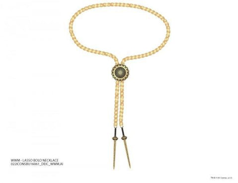 Wmm Lasso Bolo Necklace - Masters Of Geek