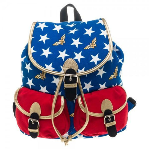 DC Comics Wonder Woman Knapsack - Masters Of Geek